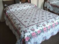 Double Flowered Bedspread