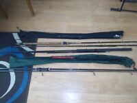 Fishing rods x5