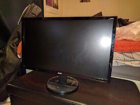 Acer 24inch 1080 full HD monitor K242HL £55