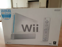 Nintendo Wii Sports with controllers, Mario Games and accessories
