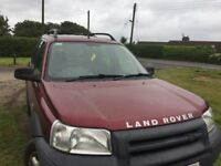 Freelander 1.8 gs spares or repair