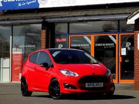FORD FIESTA 1.0 ZETEC S RED EDITION 3dr (140) *ONLY £20 Road Tax* (red) 2016