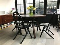 Elegant Walnut Dining Table for sale