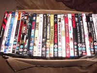 500 dvds job lot all cased with covers. Ideal boot sale or market trader or collector