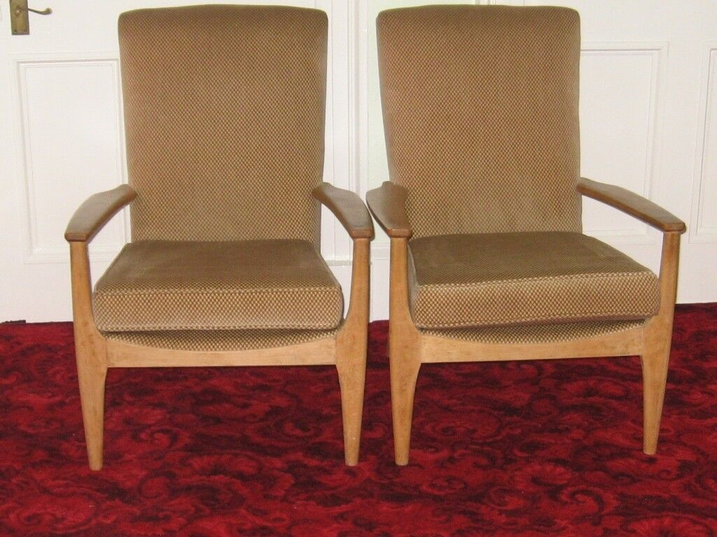 Parker Knoll Arm Chairs Model PK988 , Re-upholstered