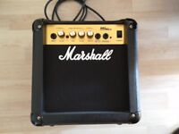 Marshall practise amp.10watt power in very good condition, little used.