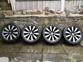 4 x Genuine Honda Civic 2014 17inch Alloy Wheels