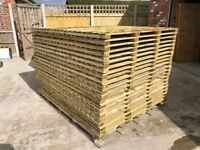 💫Flat Top Feather Edge Fence Panels • Excellent Quality