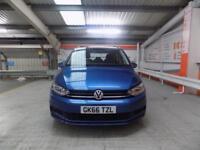 Volkswagen Touran S TDI BLUEMOTION TECHNOLOGY DSG (blue) 2016-10-05