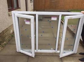 2 x brand new upvc windows
