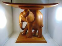 Superb Pair of Vintage African Elephant Stools, in great condition.