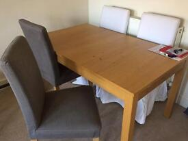 Ikea table and 4 chairs worth £510