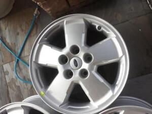 TWO ONLY .BRAND NEW NEVER MOUNTED FORD  ESCAPE  2007 - 2012   FACTORY OEM  16 INCH ALLOY WHEEL .ONE   BRAND NEWONE USED.