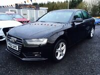 2012 Audi A4 2.0 TDI, 12 MONTHS WARRANTY, Finance Available £199 P/M