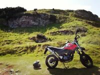 2014 Yamaha xt660x supermoto adventure bike xt660