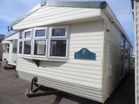 Willerby holiday home with full double glazing and gas central heating for sale on