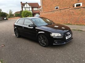 Audi A3 black edition qautro 170bhp px road bike or enduro road reg
