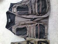 Greys fishing vest/jacket. Lots of pockets, good condition. Large/Ex large