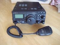 YAESU FT-857D Transceiver original box & Instructions