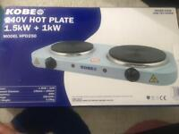 Brand New double Hotplate/cooker