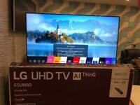 LG 65 inch 4K 2020 Smart TV UHD HDR WiFi Thin Line Boxed