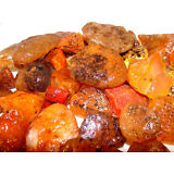 CARNELIAN ROUGH ROCKS - 2 1/2 LB Lot -Tumbling, Cabbing Lapidary - FREE SHIPPING