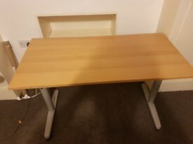 Desk and Chair for sale. £40 together or £30 desk £20 chair. Collection only