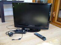 Grundig 22 inch TV with DVD combo - sound not working