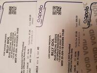 Billy idol concert tickets