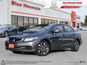 2013 Honda Civic EX Sedan w Ext Warranty