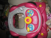 Very good condition activity baby walker.Inside freshly washed.