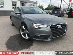 2014 Audi A5 2.0 Komfort | 1 OWNER | LEATHER | ROOF