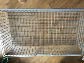 Ikea pax wire baskets like new