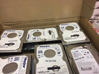 A Grade Hard Disk Drives HDDs (Seller Refurbished) All sizes