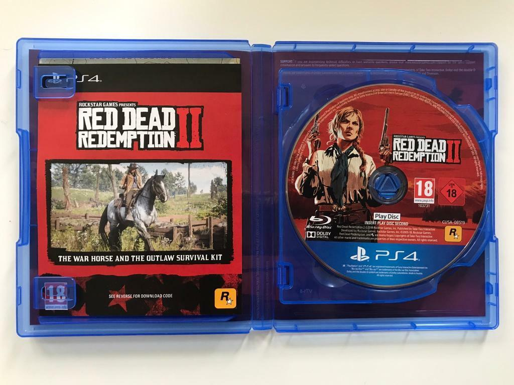 Red Dead Redemption 2 + DLC (PS4) | in Haslemere, Surrey | Gumtree