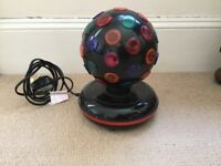 Small electrical Disco ball £3