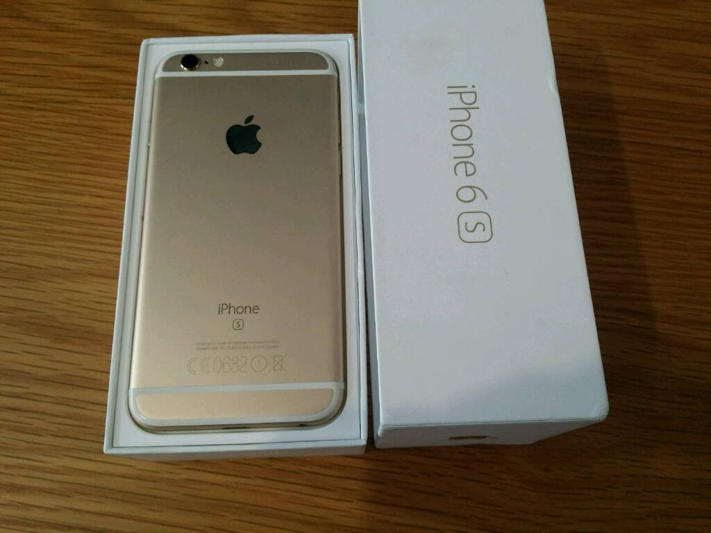 Iphone 6s Mint Condition (16GB)