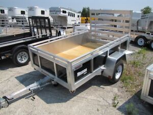 2018 Mission Trailers 5x8 Aluminum Utility Trailer Order Yours T