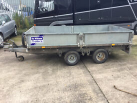 Ifor williams trailer. lt105g. Dropside. 2000kg. twin axle