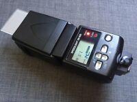 Nikon SB-600 Speedlight with Nikon soft case and diffuser
