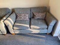 Two m&s sofas