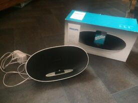 Philips Docking speaker and charger for iPhone 5/6