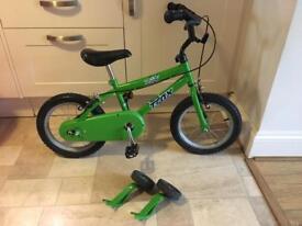 Children's Trax bike. 14 inch