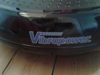 Vibrapower fitness disc (remote controlled) with accessories and fitness DVD,