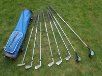Golf Clubs -Half Set