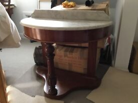 VICTORIAN DRESSING HALL TABLE SIDE CONSOLE DUCHESS GREAT CONDITION