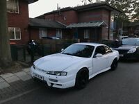 Nissan s14 race drift car 200sx silvia