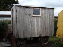Rare antique steam roller caravan C.R.B.#32 gypsy van Allansford Warrnambool City Preview