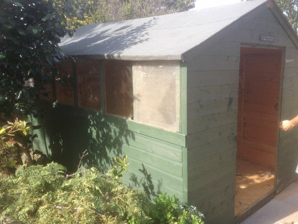 garden shed 10ft x 7ft 6 dismantled protentially sold 24917