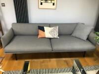 Muuto Outine 3 Seater grey sofa